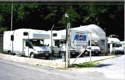 Aldo Camper:Camper a Serra Riccò